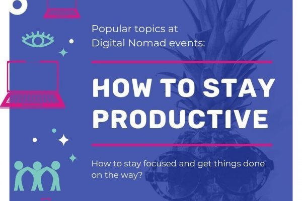 """How to stay productive"" is probably the biggest concern after ""making money""."