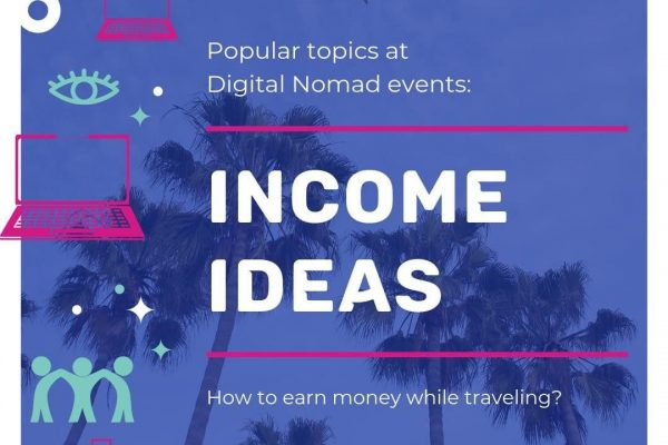 Income ideas. How to earn money while travelling?