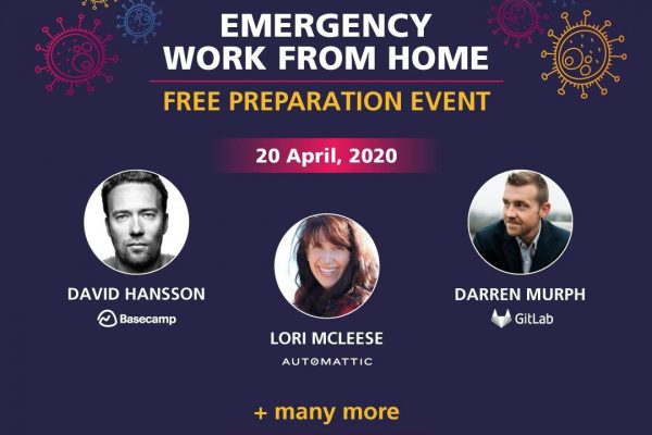 EMERGENCY WORK FROM HOME. FREE PREPARATION EVENT.