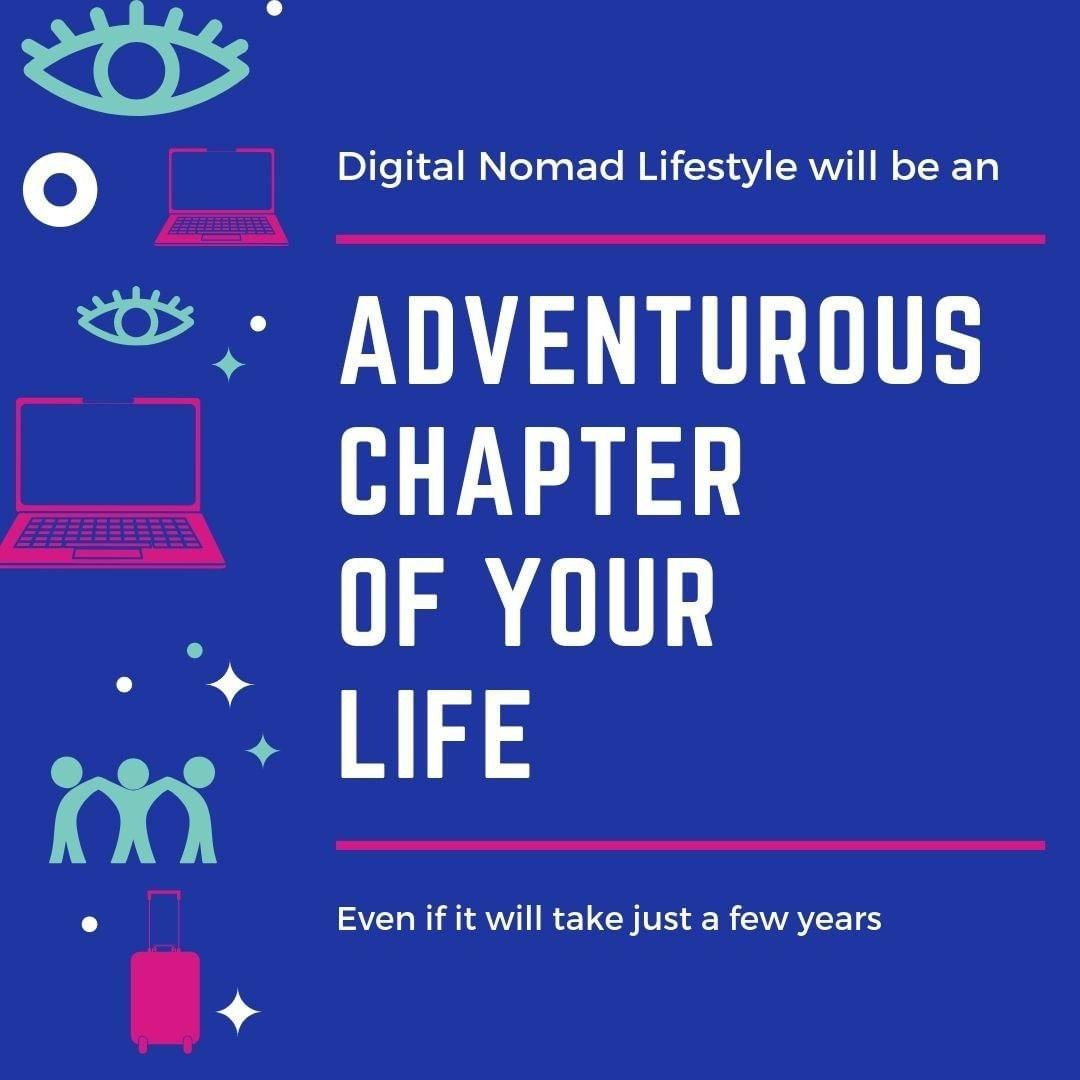 ADVENTUROUS CHAPTER OF YOUR LIFE